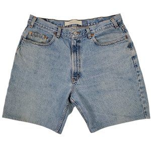 Gap Men's Cutoff Jean Shorts Size 36 Blue